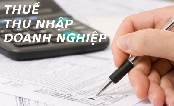 Quyết toán thuế thu nhập doanh nghiệp
