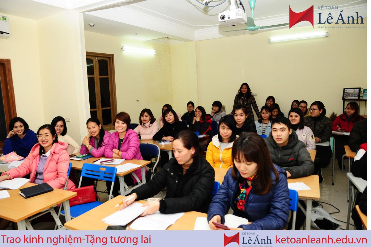 Trung tâm đào tạo kế toán Lê Ánh