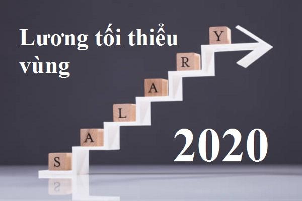 Những thay đổi về lương tối thiểu vùng 2020