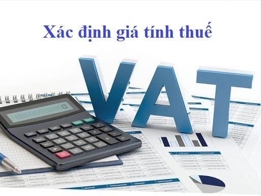 Xác định giá tính thuế GTGT